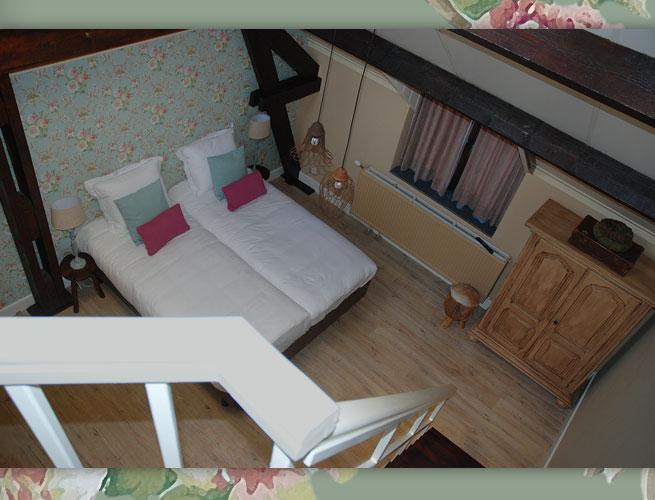 B&B VerdeSud bed and breakfast 4persoons kamer juli romantisch weekendje weg