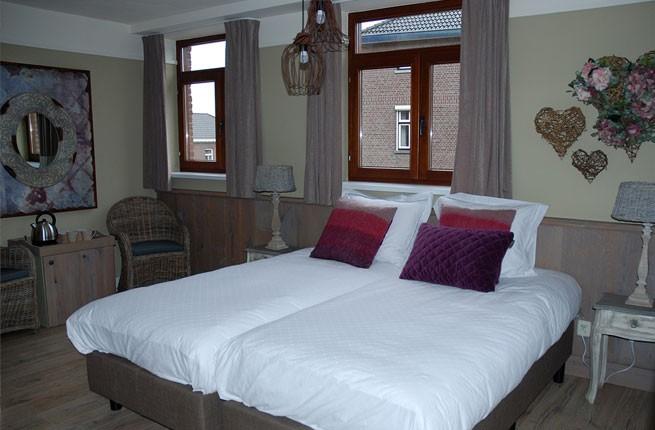 VerdeSud bed and breakfast 2persoons kamer maart romantisch weekendje weg limburg